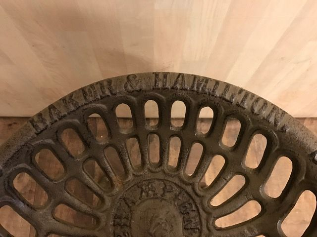 Champion Tractor Seats : Set of five american cast iron stools converted tractor