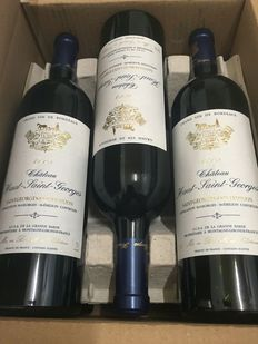 2005 Château Haut Saint-Georges, Saint-Georges-Saint-Emilion – A total of 6 bottles in original box