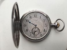 Omega - Double hunter pocket watch - Cerca 1909