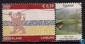 Stamp tab province of Limburg Geuldal