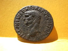 Roman Empire – Claudius. 41-54. Æ As coined in Rome, years AD 41-42.