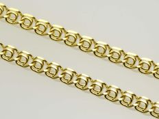 18 kt gold necklace chain ***No reserve price***