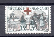 1918 France - For the Red Cross - Yvert no. 156