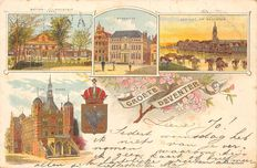The Netherlands 194x; old city and village views