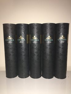 20 Years Old Tawny Port Warre's Otima in original box – 5 bottles 50cl