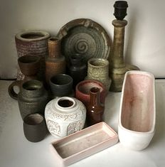Mobach- lot with 15 pieces ceramics