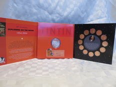 Tintin - Explorers on the Moon - 50th Anniversary Coin Set - On a marché sur la Lune - (2004)