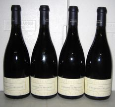 2012 Chambolle-Musigny, Domaine Amiot-Servelle, lot of 4 bottles