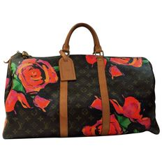Louis Vuitton – Monogram roos Keepall 50 – Stephen Sprouse Speciale uitgave