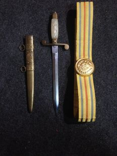 Dagger (officer dagger) of an Officer of the Romanian Communist Army - Ceausescu 1950