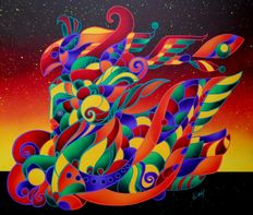 Kino Mistral - Sunset Fire of Colors