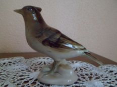 Royal Dux - porcelain bird figure