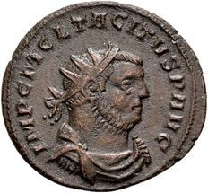Roman Empire - AE Antoninianus of emperor Tacitus 275-76 AD, minted in Siscia
