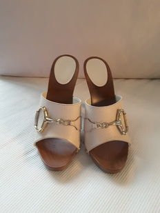 Gucci - Sandals / sabot - Size: 37.5 (IT)