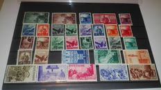 ITALY 1946-1953 New, Mint never hinged (MNH) / used