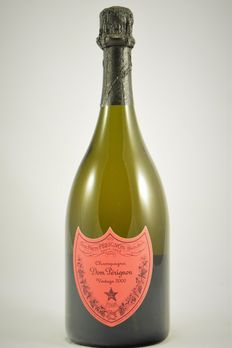 2000 Dom Perignon Andy Warhol Collection – red label – 1 bottle