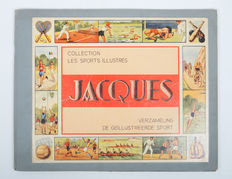 Forerunner of Panini-Jacques-Collection The Illustrated sports -Collection Les Sports Illustrés-complete album-1933.