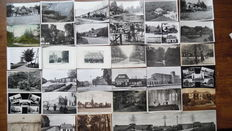 The Netherlands - party of 380 postcards of villages and towns in the province of Gelderland.