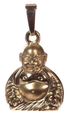 Gold Buddha pendant – new