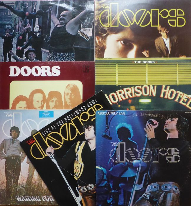 Great set of 7early albums by the doors strange days the for Door 7 days to die