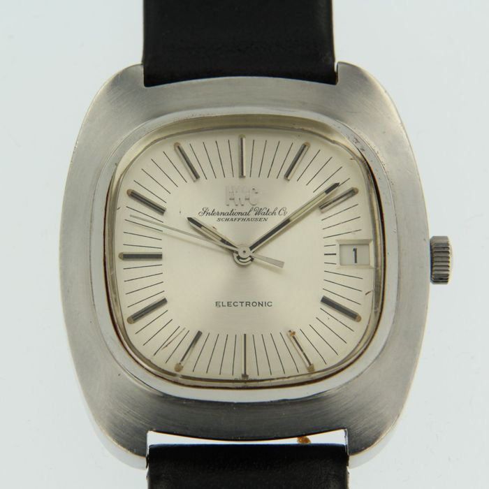 International Watch Co. Schaffhausen (IWC) Electronic- herenpolshorloge -  jaren 70