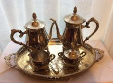 6 items  tea and coffee service