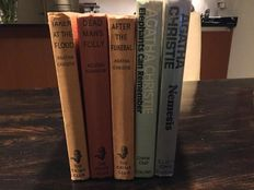 Lot of 5 Agatha Christie, mainly first editions - 1948/1972