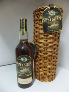 Speyburn 21 years old 1978 - distilled in 1978 and bottled in 1999 - 70cl 60,1% - from single cask #2713 - Bottle nº 393