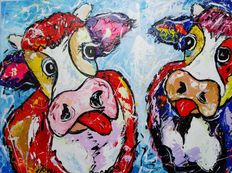 Jovan Srijemac - Happy Woodstock cows