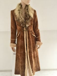 Roberto Cavalli – Long sheepskin jacket