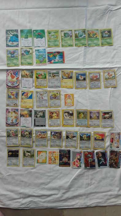 47.Rare Pokémon cards and Pocket Monsters.From the year 1996-2016