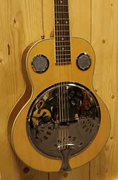 ChS Spider Resonator, colour natural with bag