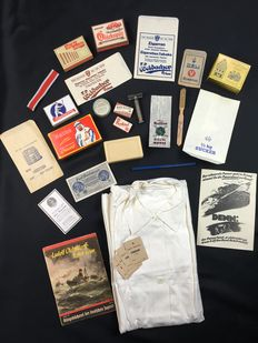 Original WWII Personal effects of the German soldiers lot