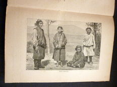 Lot of two books on Tibet - 1853 / undated