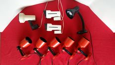 Philips – 9 vintage spotlights from the 70s and 80s
