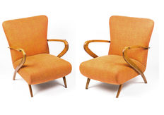 Designer unknown - pair of mid-century Italian lounge chairs