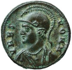Roman Empire - Constantine I the Great (307-337). Commemorative series. Follis. Kyzikos.