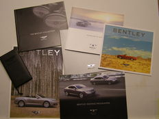 Bentley brochures - lot of 6 - 2002 / 2008