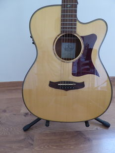 Electro acoustic guitar - Tanglewood TW170ASCE - with hard case - France - 2014