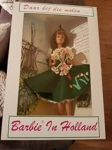 Limited edition Barbie in Holland year 1997