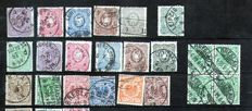 German Empire Selection of stamps 1875/1944