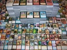 Magic The Gathering - Big collection of around 6134+- common -  One or 2 different sets.