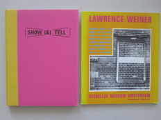 Lawrence Weiner; Lot with 2 publications - 1988 / 1992