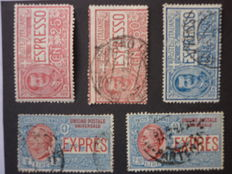 Italy, Kingdom, 1903-1942 Lot of 8 complete series + individual stamps