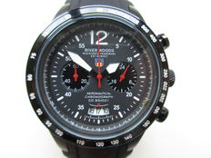 River Woods chronograph - ref. 01RWC1LBDSCB men's wristwatch - never worn - 2014.