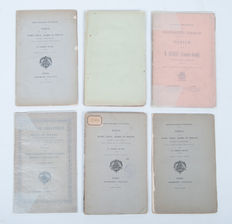Bibliography; Lot with six rare publications about Ottomania - 19th century