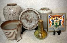 Westraven -  Lot with 6 pieces of ceramic