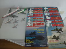 Lot: 13 volumes, Airplane + 6 x scale model - Martinair/Transavia