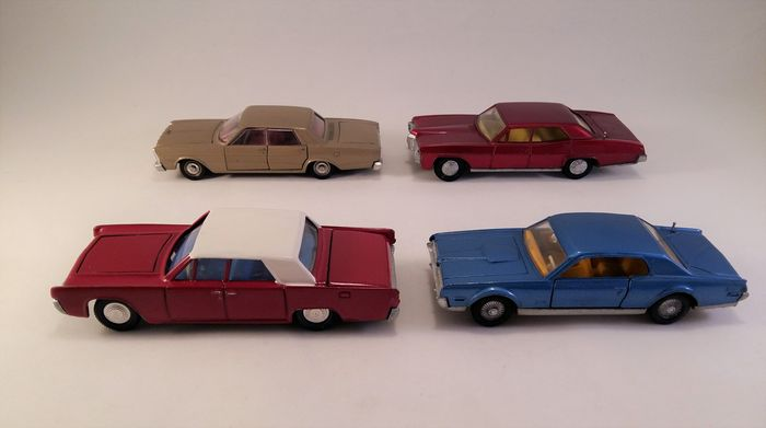 Dinky toys scale 143 lot with 4 us cars pontiac parisienne no dinky toys scale 143 lot with 4 us cars pontiac publicscrutiny Gallery