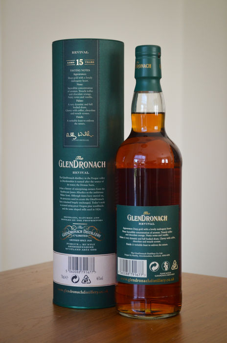 """Glendronach 15 Years Old """"Revival"""""""